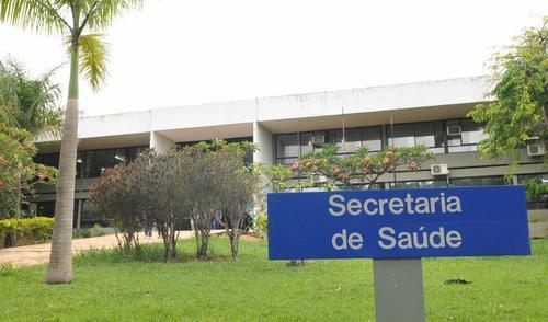 Fachada Secretaria de Saúde do DF (SES-DF)