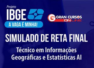 Simulado IBGE Reta Final