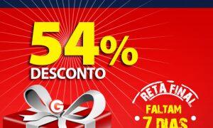 Presente exclusivo para o futuro dos brasilienses: 54% de desconto