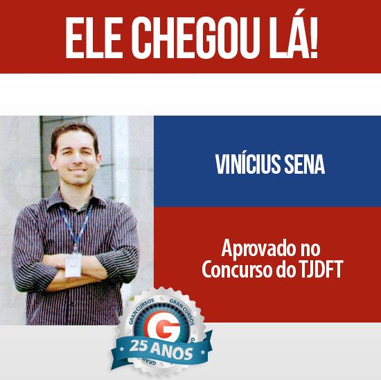 História de Sucesso: Ex-aluno do Gran Cursos é aprovado no concurso do TJDFT!