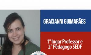 História de sucesso: Aluna do Gran Cursos Online é aprovada em dois concursos da SEDF! 1° e 2° lugares!