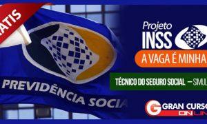 Simulado Grátis – Concurso do INSS – Técnico do Seguro Social!