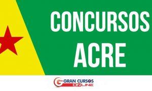 Concursos Acre: carreiras policiais oferecem remuneração de até R$ 7 mil!