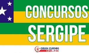 Concursos no Sergipe oferecem centenas de vagas. Inicial de até R$ 14 mil!