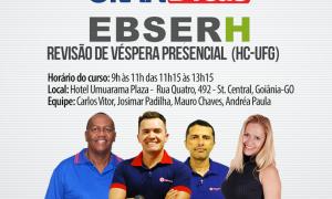 Aulão de véspera para o concurso da Ebserh Goiás!  Revise o conteúdo e baixe grátis simulado para o concurso!