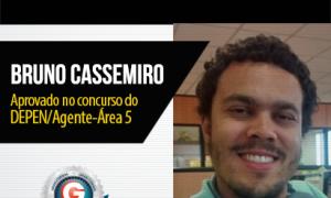 História de sucesso: aluno do Gran Cursos Online é aprovado no concurso para agente penitenciário do DEPEN!