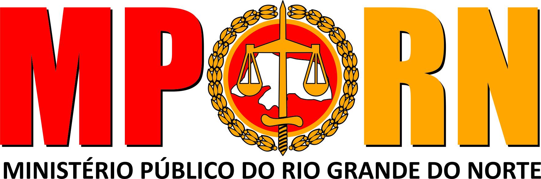 Imagem do logotipo do Ministério Público do RN, que publica o edital MP RN