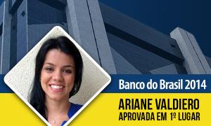 Com coragem e determinação, aluna é 1º lugar no concurso do Banco do Brasil!