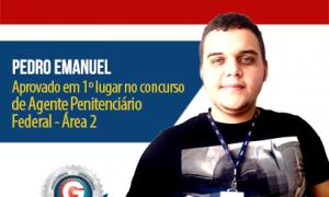 História de sucesso: Aluno do Gran Cursos Online é 1º lugar no concurso do DEPEN! Motive-se!