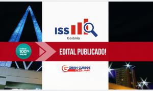 Saiu edital para Auditor de Tributos do ISS Goiânia! Inicial de  R$ 10.558,84!