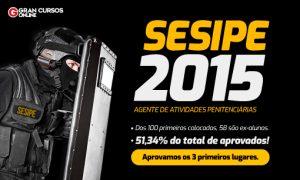 SESIPE DF 2015: aprovamos os primeiros lugares! Confira!