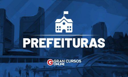 Edital Prefeitura de Porto Esperidião MT: inscrições abertas. VEJA!