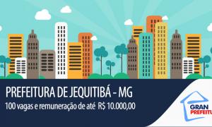 Prefeitura de Jequitibá – MG realiza concurso. Remuneração máxima atinge R$ 10.000,00!