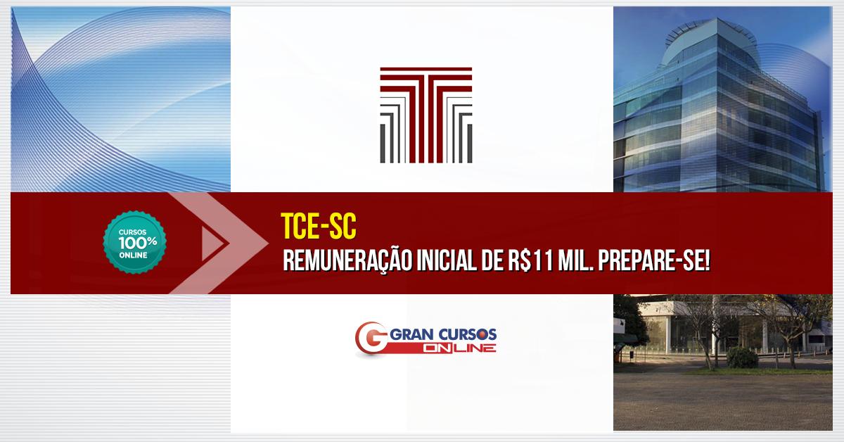 Concurso TCE-SC 2016 Auditor