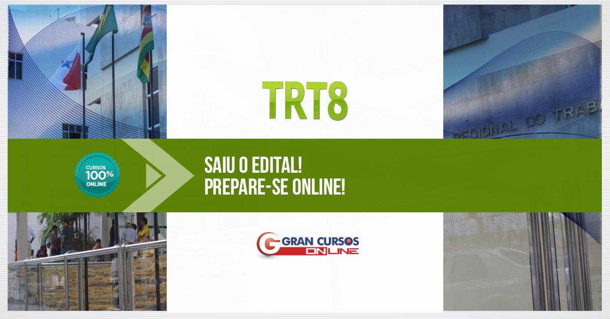 Concurso TRT 8ª Região 2016