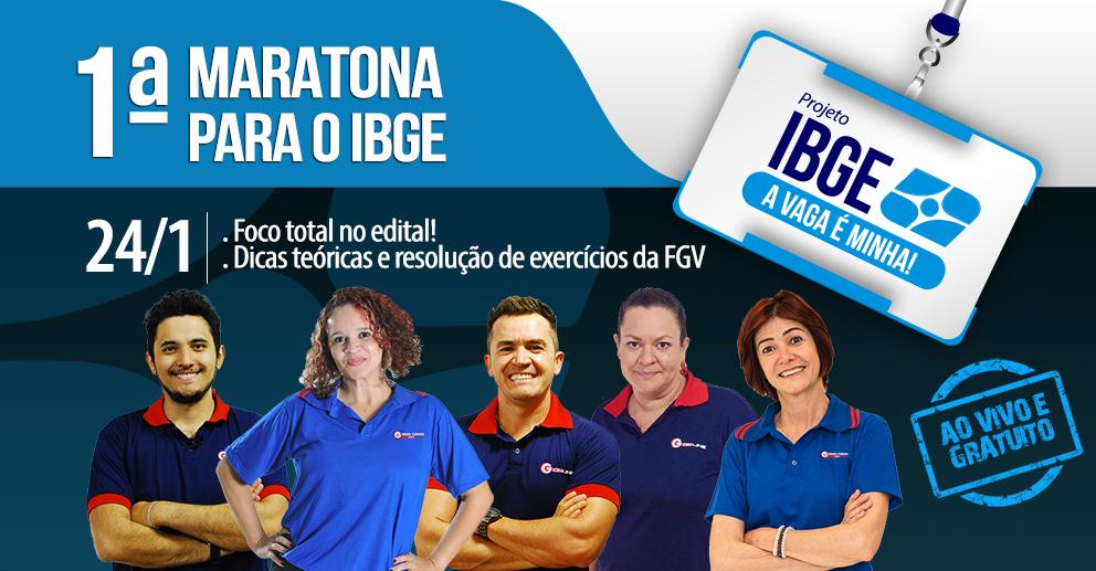 Aulas Grátis para o concurso IBGE