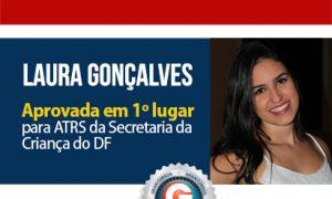 1º lugar concurso ATRS: Pragmatismo e persistência levam Laura ao topo da lista!