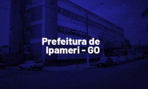 Concurso Ipameri GO: provas em dezembro. SAIBA MAIS!