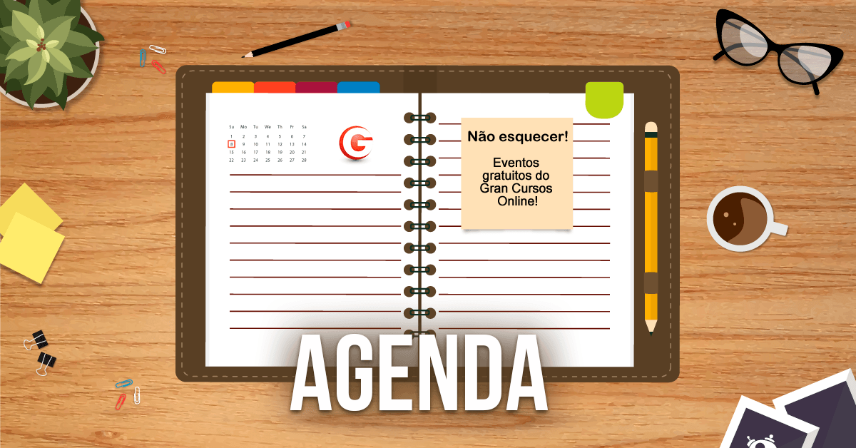 Calendário Gran Cursos Online: confira as aulas gratuitas desta sexta, 25/11!