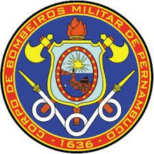 Símbolo do corpo de bombeiros de Pernambuco, que promove o Concurso Bombeiro PE