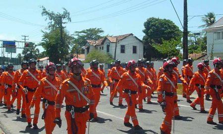 Corpo de bombeiros de Pernambuco, que promove o Concurso Bombeiros PE