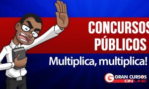 Semana começa com mais de 22 mil vagas em concursos públicos para todos os níveis escolares! Até R$ 33 mil!