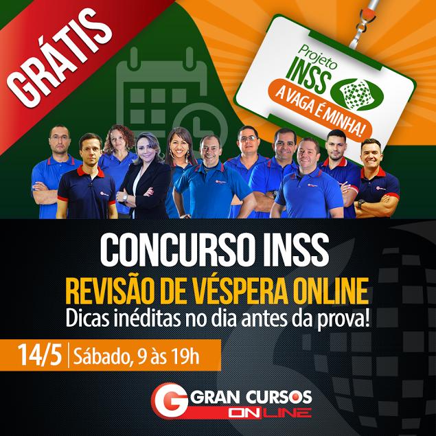 Concurso INSS 2016