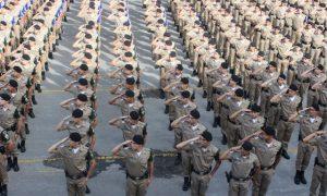 Concurso da Polícia Militar de Minas Gerais (PM-MG) tem 429 vagas para Soldados! Inicial de R$ 3.278,74.