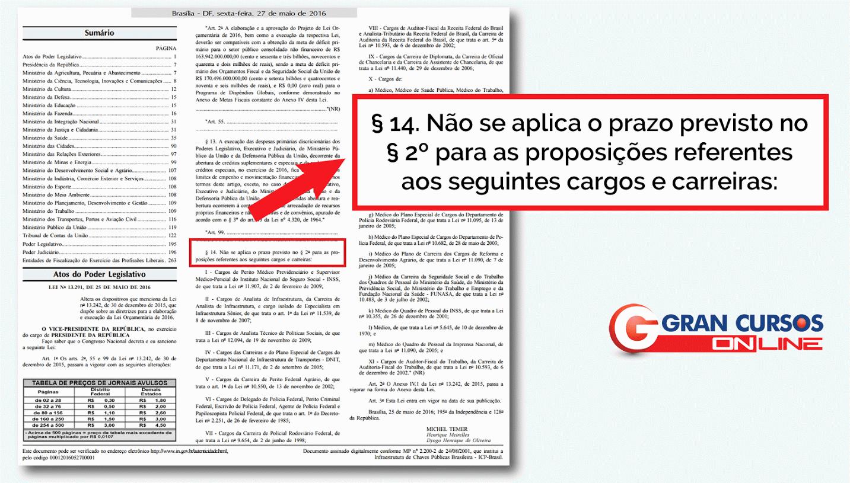 Confira aqui a publicação no DOU de hoje (27/05)!