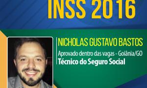 Resumos, mapas mentais, muita dedicação e estudo: a receita de sucesso de Nicholas Bastos para ser aprovado no INSS 2016