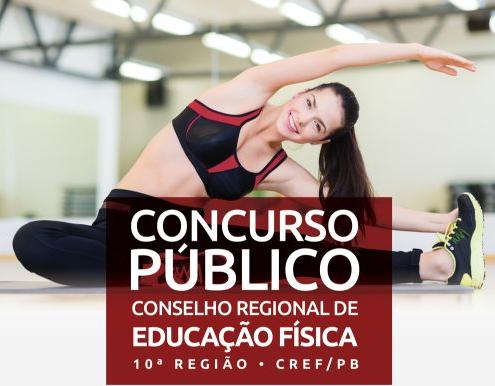 Conselho Regional de Educação Física da 10ª Região - CREF - 10 (Concurso CREF-PB 2016) oferece oportunidades para níveis médio e superior!