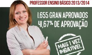 Concurso SEDF 2013/2014 – Professor de Educação Básica: 1.655 GRAN alunos aprovados e dezenas de primeiros lugares!