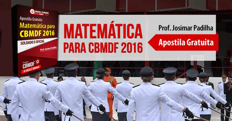 Matemática CBMDF