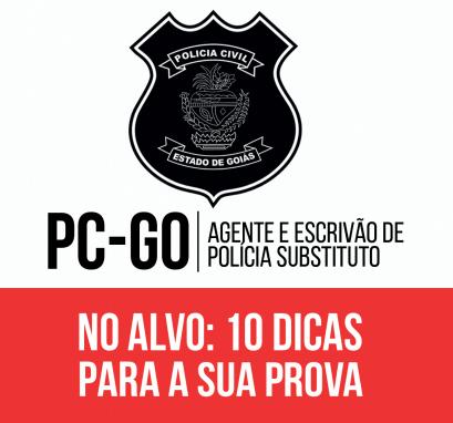 provas do concurso Polícia Civil GO 2016 (PC GO)
