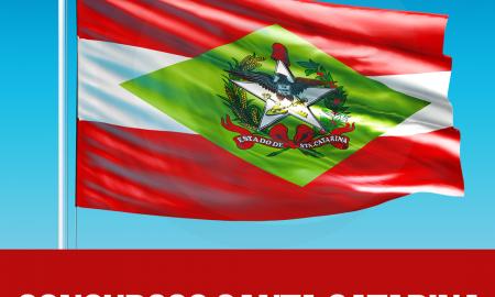Concursos em Santa Catarina serão abertos ao longo de 2017.