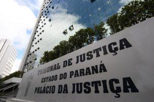 Fachada do Tribunal de Justiça do Paraná
