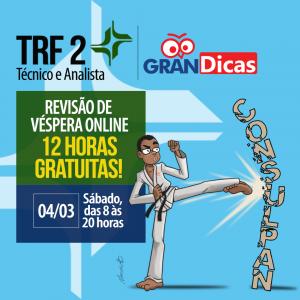 Gran Dicas TRF 2