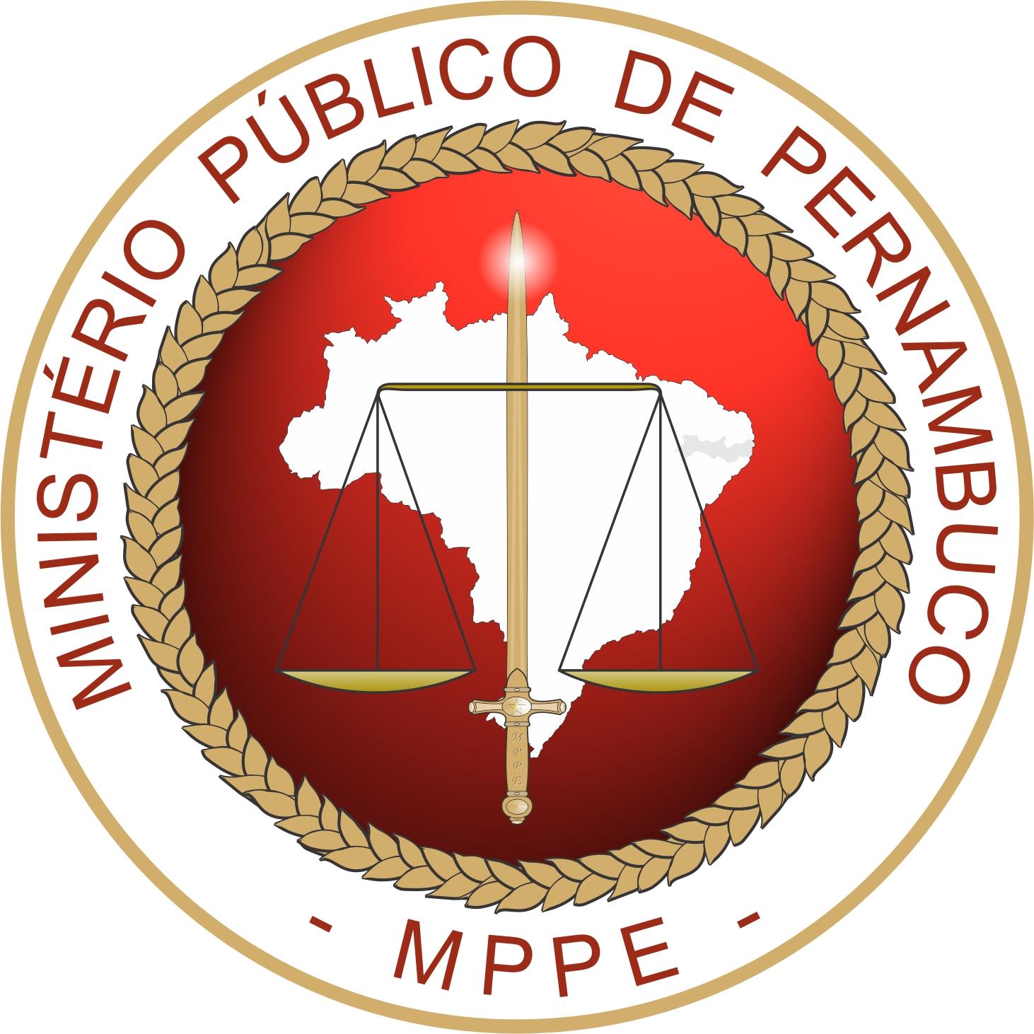 Concurso MP PE: brasão do orgão
