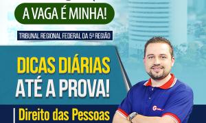 Concurso TRF 5: confira as dicas gratuitas de Direito das Pessoas com Deficiência!