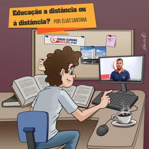 Educação a distância ou à distância?