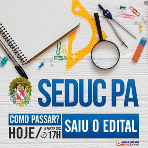 Concurso Seduc PA