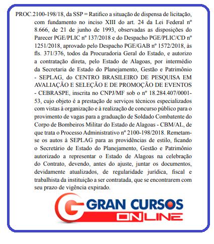 Concurso Bombeiro AL oferecerá chances para soldado!
