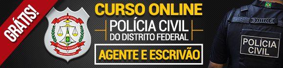 Concurso PCDF: Curso Online