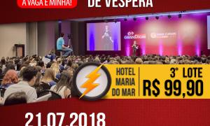 Gran Dicas TJSC: Aulão presencial de véspera em Florianópolis no dia 21 de julho. 3º lote disponível! Corra e garanta o seu lugar!