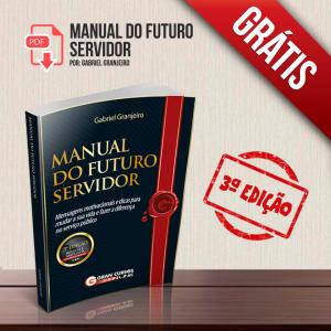 Manual Do Futuro Servidor 3ª Edição Coletânea Completa
