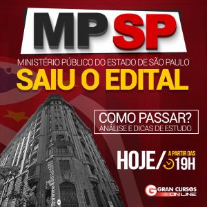 Saiu o edital para Analista Jurídico do Concurso MP SP! Veja a análise!