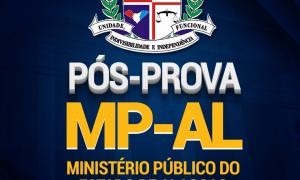 Pós-prova MP AL: Participe do nosso pós-prova, confira os comentários dos professores e participe do ranking extraoficial