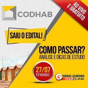 Concurso CODHAB