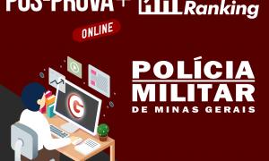 Pós-prova PM MG: ranking + gabarito oficial!