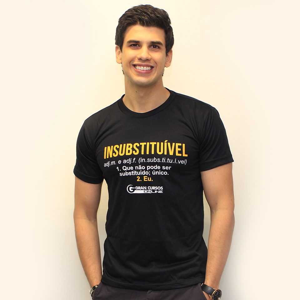 Camiseta Masculina – Insubstituível